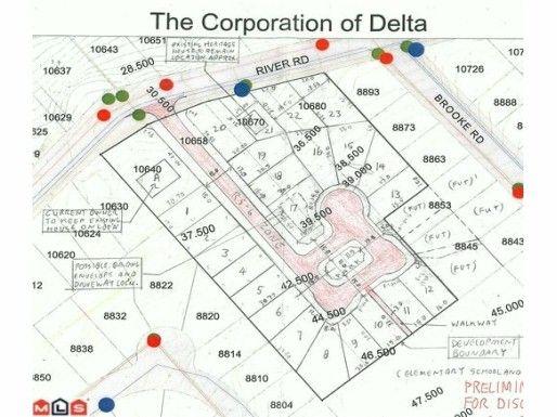 Main Photo: 10670 RIVER Road in Delta: Nordel Land for sale (N. Delta)  : MLS®# F1207865