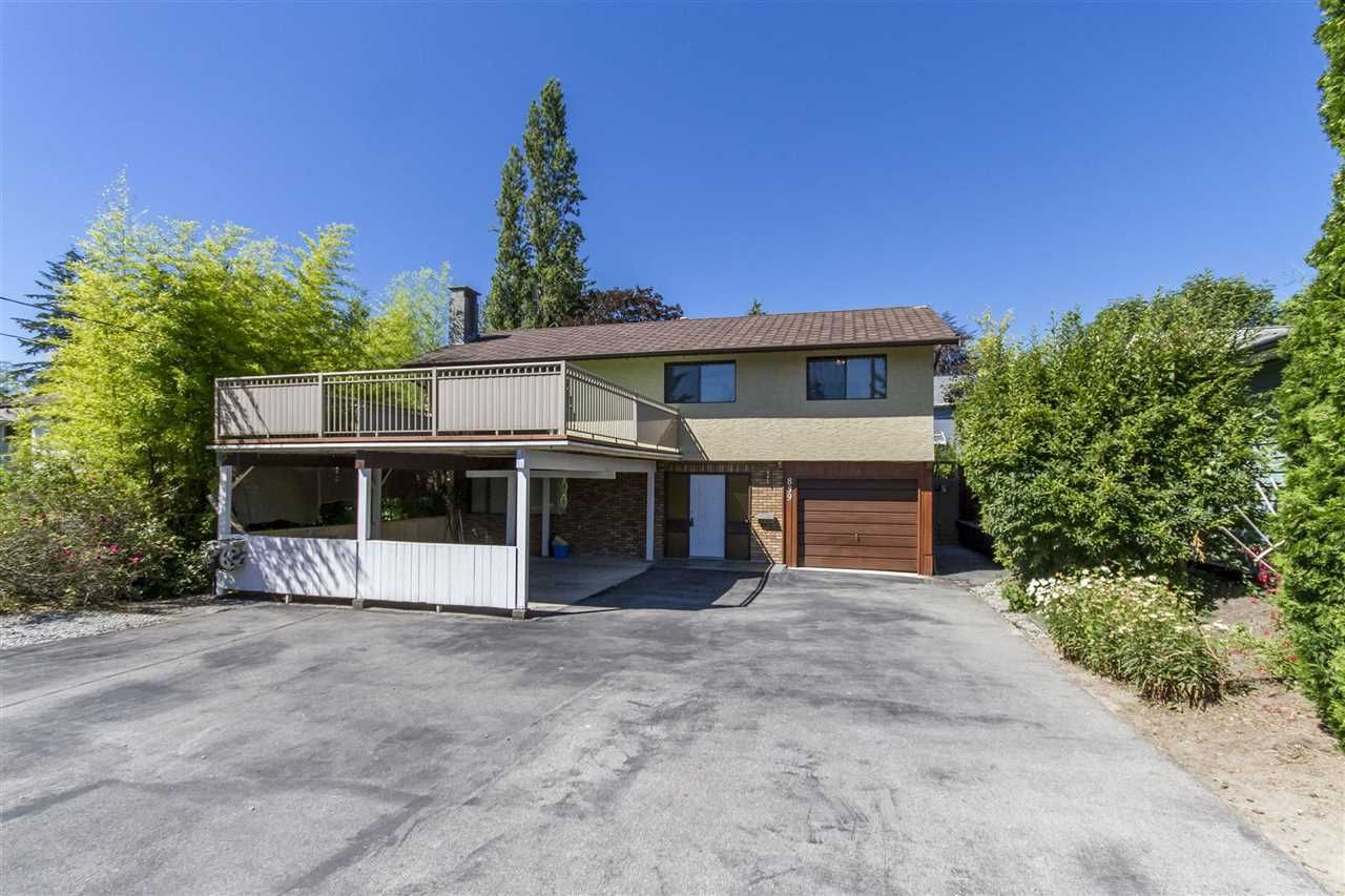 Main Photo: 839 COMO LAKE AVENUE in : Coquitlam West House for sale : MLS®# R2095919