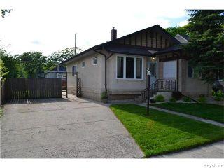 Photo 1: 294 Belvidere Street in Winnipeg: St James Residential for sale (West Winnipeg)  : MLS®# 1614084