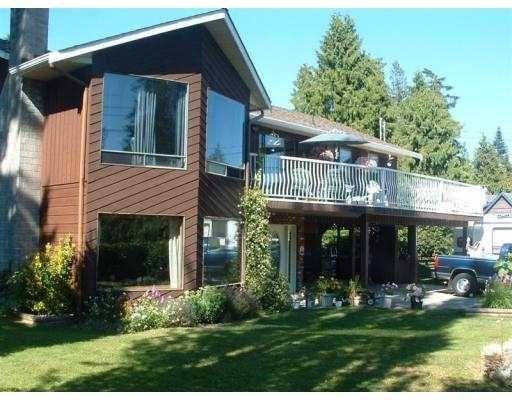 Main Photo: 1120 SUNNYSIDE RD in Gibsons: Gibsons & Area House for sale (Sunshine Coast)  : MLS®# V550140