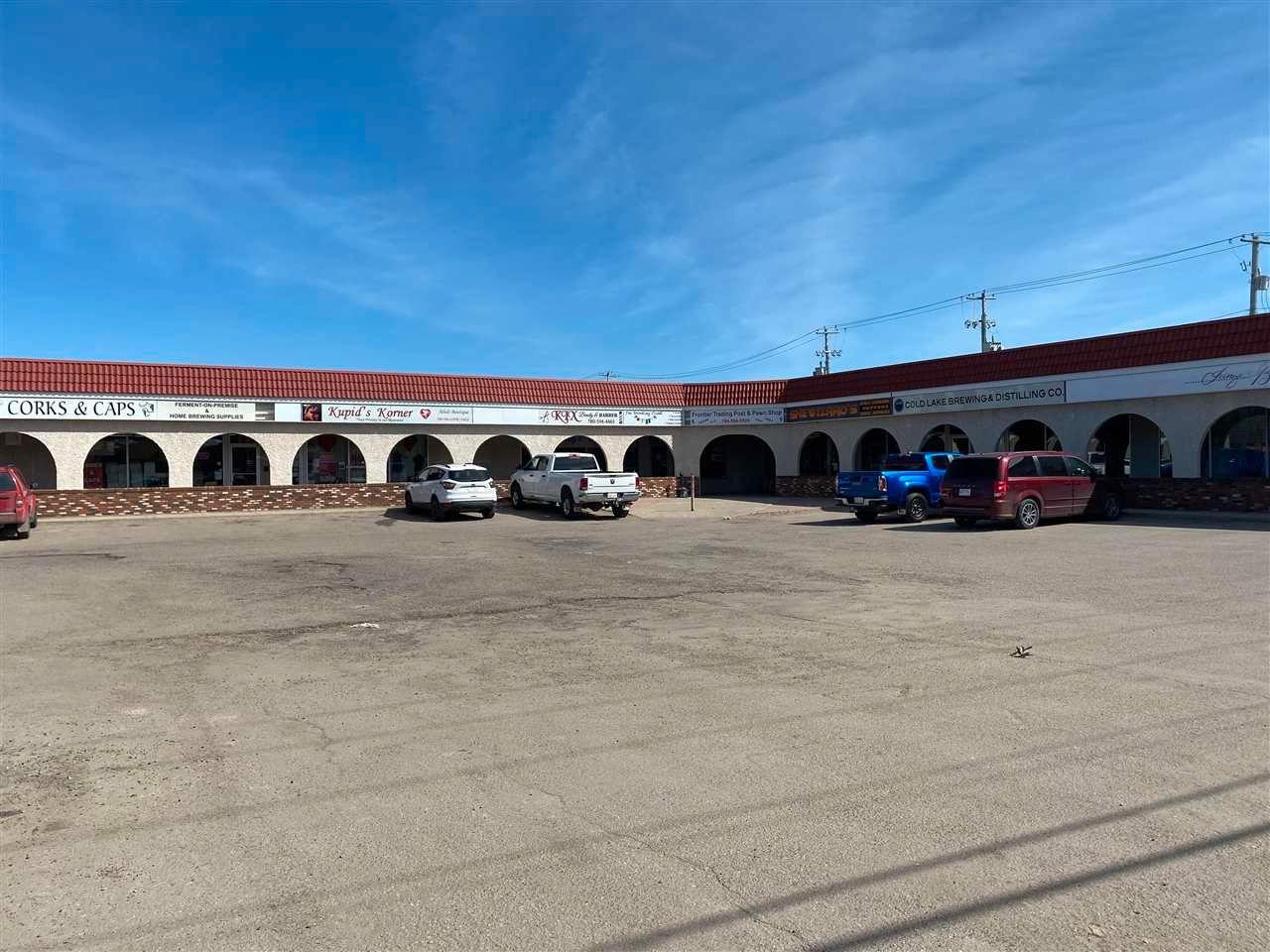 Main Photo: #5 5109 51 Avenue: Cold Lake Retail for sale : MLS®# E4242766