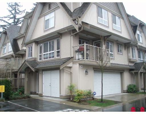 "Main Photo: 33 12738 66TH Avenue in Surrey: West Newton Townhouse for sale in ""STARWOOD"" : MLS®# F2808104"