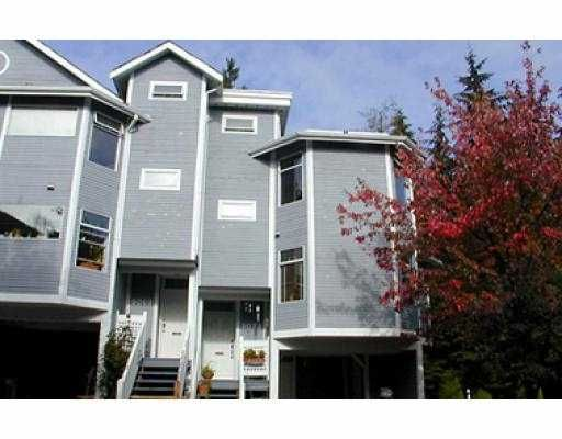 Main Photo: 9073 MOORSIDE PL in Burnaby: Forest Hills BN Townhouse for sale (Burnaby North)  : MLS®# V541241