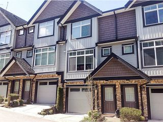 "Photo 1: 15 6299 144TH Street in Surrey: Sullivan Station Townhouse for sale in ""ALTURA"" : MLS®# F1407948"