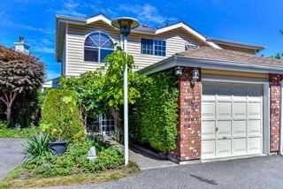 """Photo 1: 104 12233 92 Avenue in Surrey: Queen Mary Park Surrey Townhouse for sale in """"Orchard Lake"""" : MLS®# R2565591"""