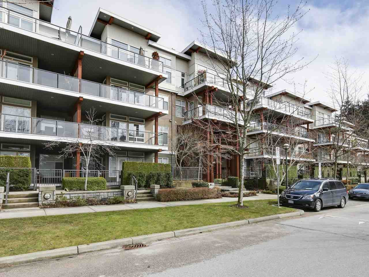 """Photo 1: Photos: 404 6328 LARKIN Drive in Vancouver: University VW Condo for sale in """"Journey"""" (Vancouver West)  : MLS®# R2146632"""