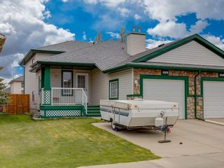 Photo 1: 415 STONEGATE Rise NW: Airdrie Semi Detached for sale : MLS®# C4299207