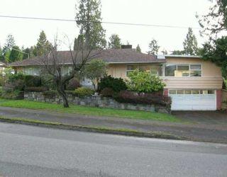 Photo 1: 3392 DELBROOK Ave in North Vancouver: Delbrook House for sale : MLS®# V623935