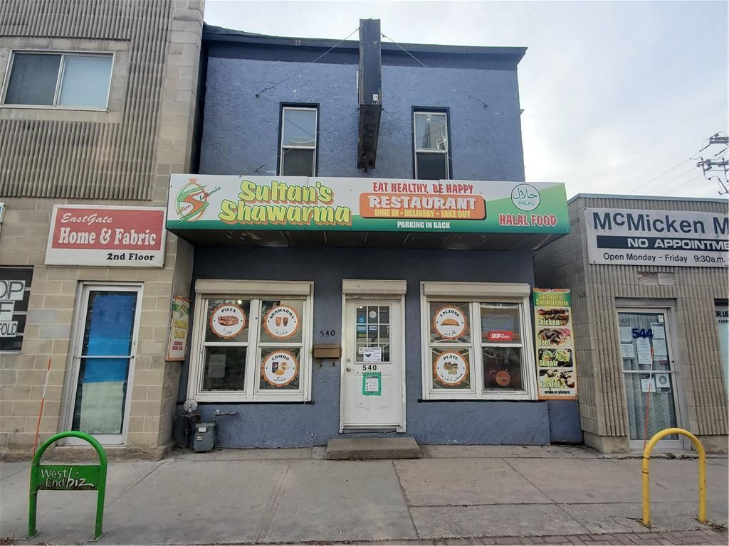 Main Photo: 540 Ellice Avenue in Winnipeg: Industrial / Commercial / Investment for sale (5A)  : MLS®# 202027787