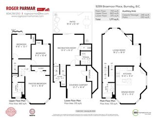 Photo 26: 9299 BRAEMOOR Place in Burnaby: Forest Hills BN Townhouse for sale (Burnaby North)  : MLS®# R2587687