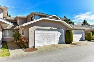 """Photo 1: 163 15501 89A Avenue in Surrey: Fleetwood Tynehead Townhouse for sale in """"AVONDALE"""" : MLS®# R2050626"""