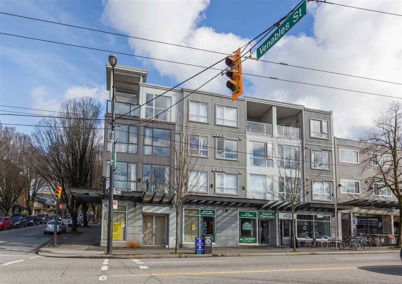 """Main Photo: 304 1718 VENABLES Street in Vancouver: Grandview VE Condo for sale in """"CITY VIEW TERRACES"""" (Vancouver East)  : MLS®# R2145725"""