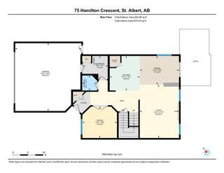 Photo 47: 75 Hamilton Crescent: St. Albert House for sale : MLS®# E4235774