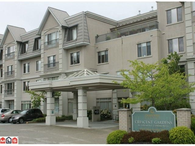 "Main Photo: 4114 1222 KING GEORGE Boulevard in Surrey: King George Corridor Condo for sale in ""Crescent Gardens"" (South Surrey White Rock)  : MLS®# F1213262"