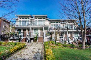 "Photo 1: 1 2717 HORLEY Street in Vancouver: Collingwood VE Townhouse for sale in ""AVIIDA"" (Vancouver East)  : MLS®# R2532899"