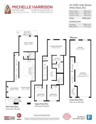 "Photo 23: 4 1450 VIDAL Street: White Rock Townhouse for sale in ""DEVON"" (South Surrey White Rock)  : MLS®# R2568359"