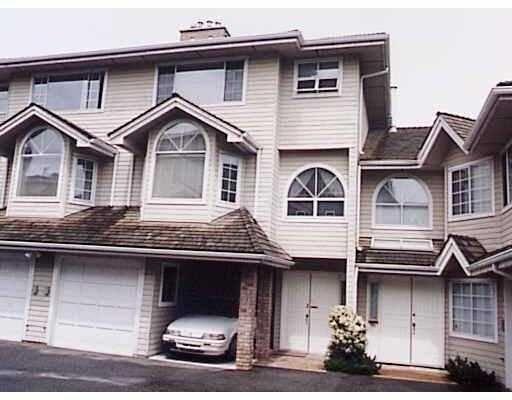 """Main Photo: 3 8180 BENNETT RD in Richmond: Brighouse South Townhouse for sale in """"CANAAN COURT"""" : MLS®# V582232"""