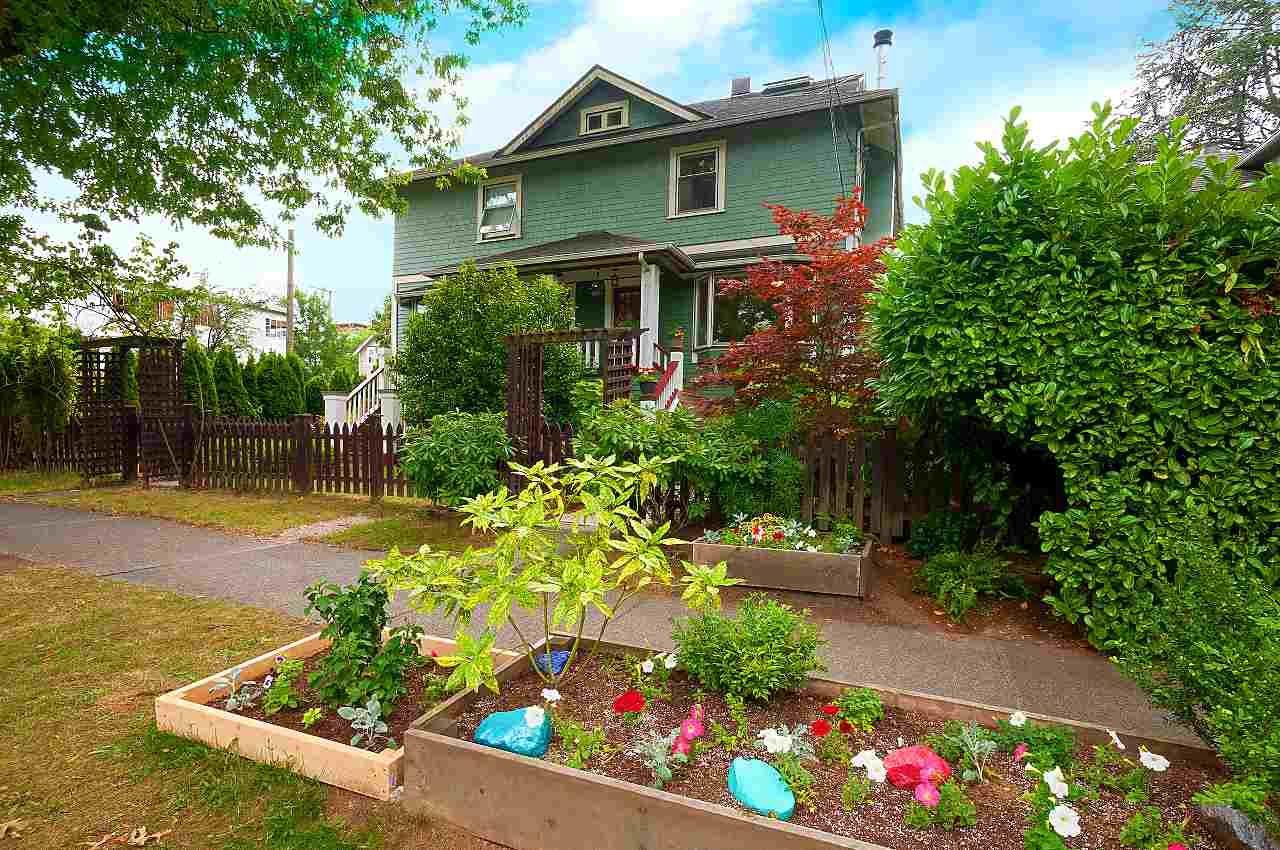 Main Photo: 6 W 11TH Avenue in Vancouver: Mount Pleasant VW 1/2 Duplex for sale (Vancouver West)  : MLS®# R2387721