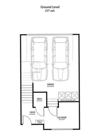 Photo 6: 32 150 Discovery Drive SW in Calgary: Discovery Ridge Row/Townhouse for sale : MLS®# A1114813
