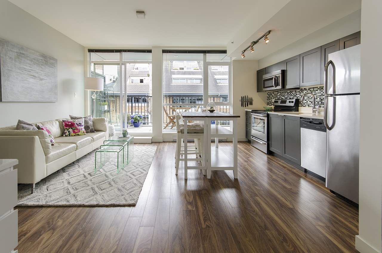 """Main Photo: 402 2511 QUEBEC Street in Vancouver: Mount Pleasant VE Condo for sale in """"OnQue"""" (Vancouver East)  : MLS®# R2072084"""