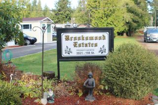 """Photo 1: 11 3931 198 Street in Langley: Brookswood Langley Manufactured Home for sale in """"BROOKSWOOD MOBILE HOME ESTATES"""" : MLS®# R2421512"""