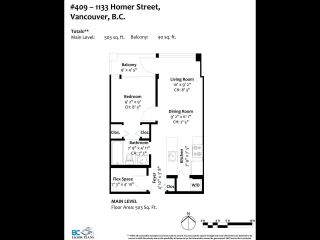 """Photo 22: 409 1133 HOMER Street in Vancouver: Yaletown Condo for sale in """"H&H"""" (Vancouver West)  : MLS®# R2582062"""