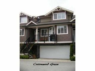 "Photo 1: 27 11720 COTTONWOOD Drive in Maple Ridge: Cottonwood MR Townhouse for sale in ""COTTONWOOD GREEN"" : MLS®# V882022"