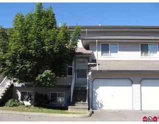 "Photo 1: 77 34332 MACLURE Road in Abbotsford: Central Abbotsford Townhouse for sale in ""Immel Ridge"" : MLS®# F2720910"