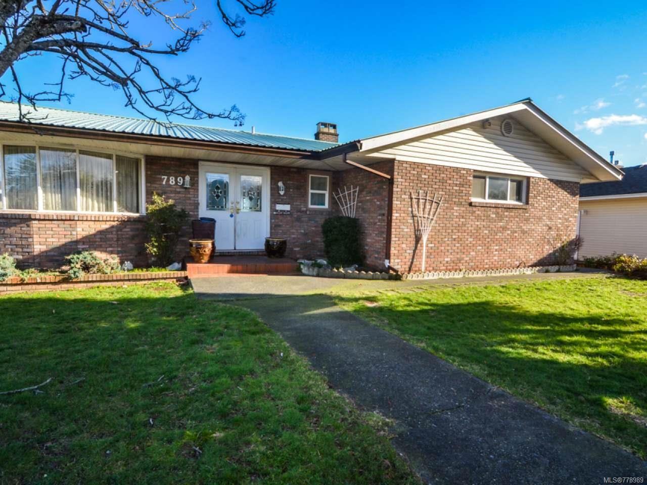 Main Photo: 789 Nancy Greene Dr in CAMPBELL RIVER: CR Campbell River Central House for sale (Campbell River)  : MLS®# 778989