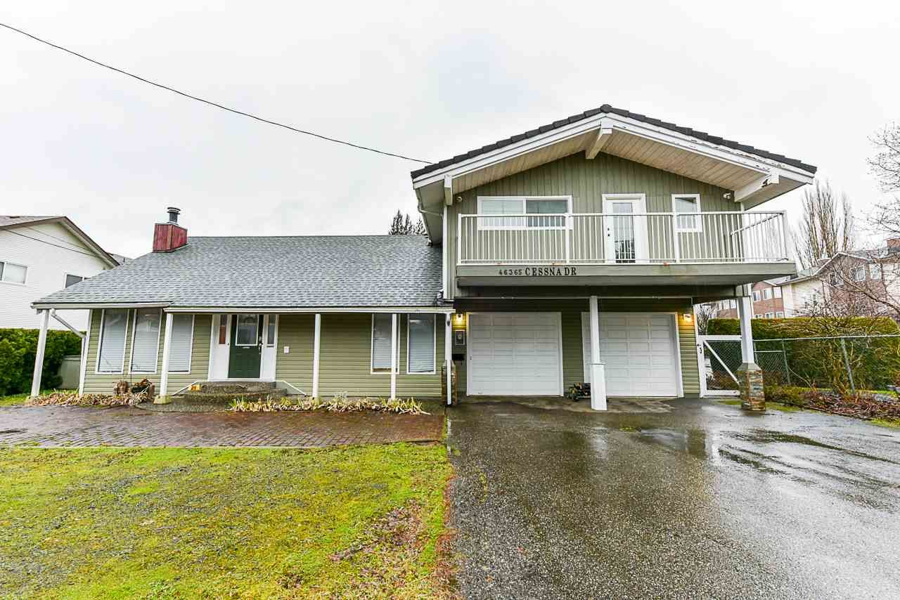 Main Photo: 46365 CESSNA Drive in Chilliwack: Chilliwack E Young-Yale House for sale : MLS®# R2534194