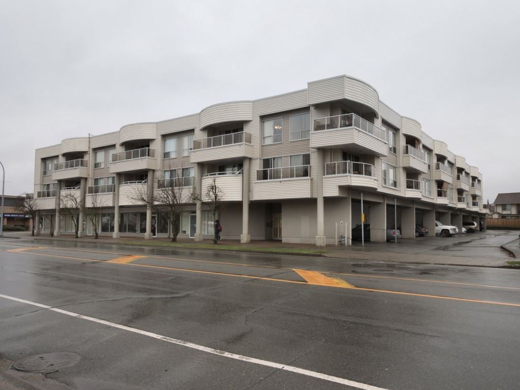 "Main Photo: 212 13771 72A Avenue in Surrey: East Newton Condo for sale in ""Newton Plaza"" : MLS®# R2235891"