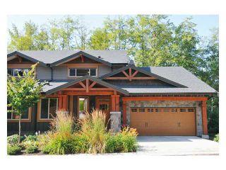 "Photo 1: 97 24185 106B Avenue in Maple Ridge: Albion Townhouse for sale in ""TRAILS EDGE"" : MLS®# V1045522"