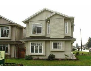 Photo 1: V3B 8E9: House for sale (Glenwood PQ)  : MLS®# V573143
