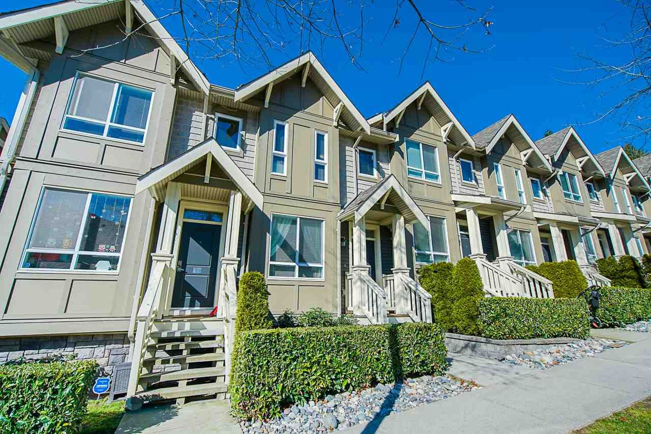 Main Photo: 8 3395 GALLOWAY Avenue in Coquitlam: Burke Mountain Townhouse for sale : MLS®# R2444614
