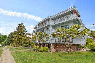 """Photo 1: 204 134 W 20TH Street in North Vancouver: Central Lonsdale Condo for sale in """"Chez Moi"""" : MLS®# R2585537"""