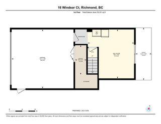 "Photo 18: 16 22888 WINDSOR Court in Richmond: Hamilton RI Townhouse for sale in ""WINDSOR GARDENS"" : MLS®# R2624182"