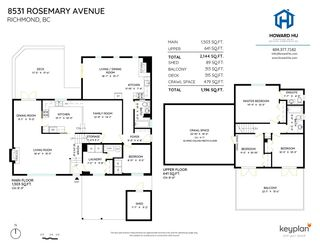 """Photo 40: 8531 ROSEMARY Avenue in Richmond: South Arm House for sale in """"MONTROSE ESTATES"""" : MLS®# R2577422"""