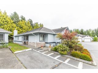 """Photo 1: 28 5550 LANGLEY Bypass in Langley: Langley City Townhouse for sale in """"Riverwynde"""" : MLS®# R2615575"""