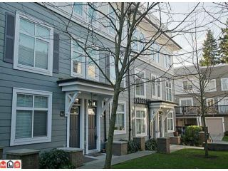 Photo 1: 63 15833 26TH Avenue in Surrey: Grandview Surrey Townhouse for sale (South Surrey White Rock)  : MLS®# F1200766
