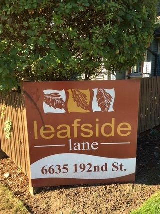 """Photo 2: 5 6635 192 Street in Surrey: Clayton Townhouse for sale in """"Leaf Side"""" (Cloverdale)  : MLS®# R2209780"""