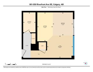Photo 32: 801 550 Riverfront Avenue SE in Calgary: Downtown East Village Apartment for sale : MLS®# A1068859