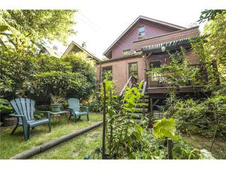 Photo 12: 2524 ALBERTA ST in Vancouver: Mount Pleasant VW House for sale (Vancouver West)  : MLS®# V1018034