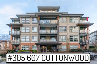 "Photo 1: 305 607 COTTONWOOD Avenue in Coquitlam: Coquitlam West Condo for sale in ""Stanton House"" : MLS®# R2534606"