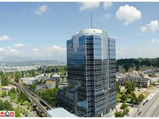 """Photo 1: 1810 10777 UNIVERSITY Drive in Surrey: Whalley Condo for sale in """"CITY POINT"""" (North Surrey)  : MLS®# F1216644"""