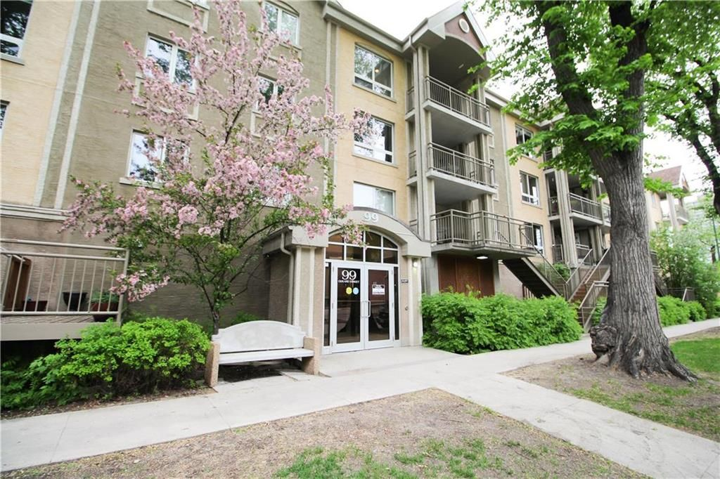 Main Photo: 308 99 Gerard Street in Winnipeg: Osborne Village Condominium for sale (1B)  : MLS®# 202011796