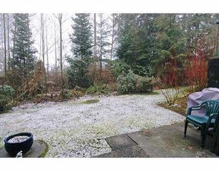 """Photo 8: 3 65 FOXWOOD DR in Port Moody: Heritage Mountain Townhouse for sale in """"FOREST HILL"""" : MLS®# V576719"""