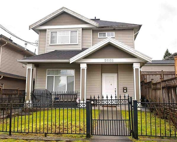 Main Photo: BURNABY in 5668 HARDWICK ST: Central BN 1/2 Duplex for sale (Burnaby North)  : MLS®# R2542484