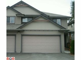 """Photo 1: 20 7543 MORROW Road: Agassiz Townhouse for sale in """"TANGLEBERRY LANE"""" : MLS®# H1104392"""