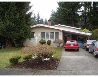 Photo 1: 2323 HAVERSLEY AV in Coquitlam: Coquitlam East House for sale : MLS®# V581981