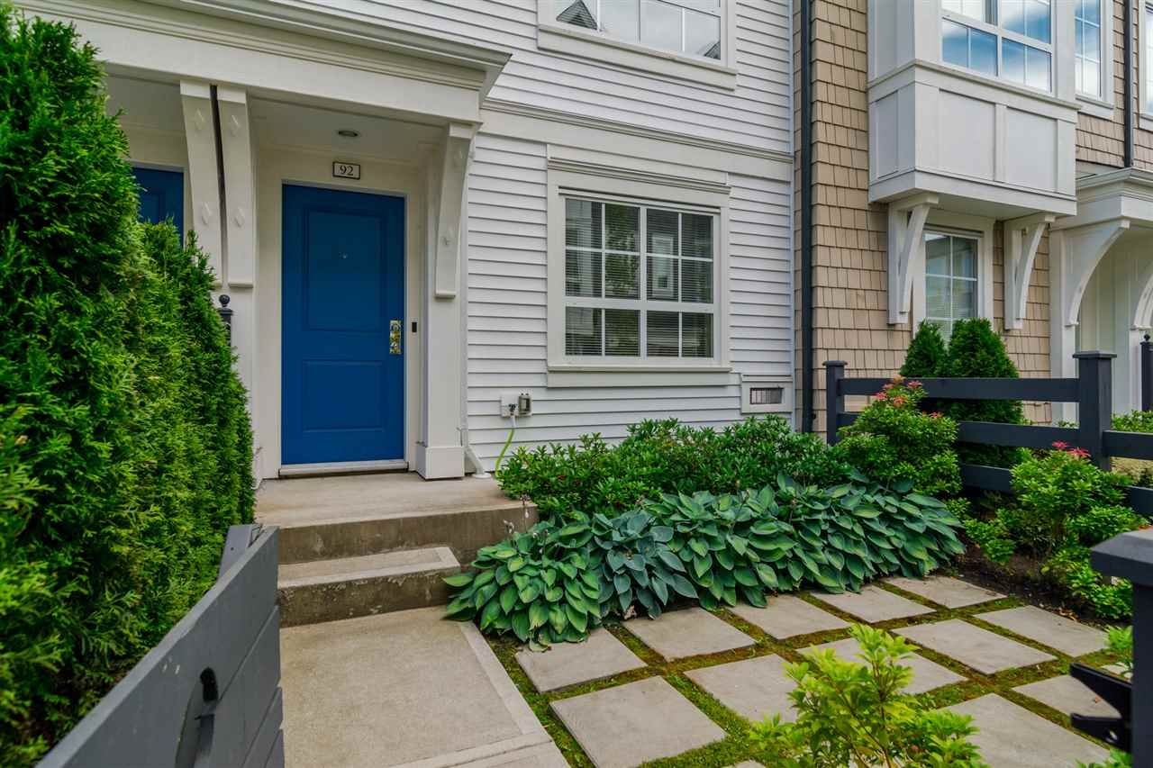 """Main Photo: 92 8438 207A Street in Langley: Willoughby Heights Townhouse for sale in """"YORK By Mosaic"""" : MLS®# R2191419"""